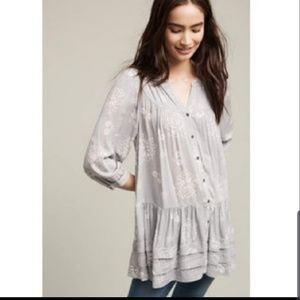 Anthropologie Holding Horses tunic with pockets